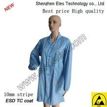 new design esd cleanroom overcoat