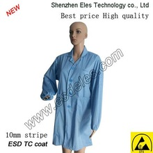 blue antistatic stock clothes