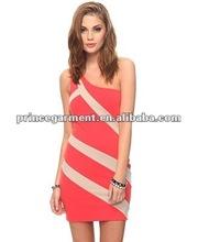 2012 new design ladies fashion casual dress