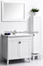 2012 Fashionable Antique White Bathroom Vanity ,Classic White Bathroom Vanity