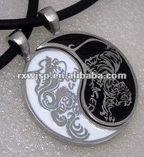 Fashion Chinese Yin Yang Dragon Pendant