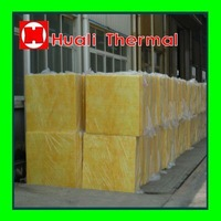 Fire proof and water proof glass wool board for building