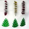 foil swirl dangler christmas product