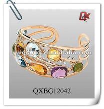 Colorful bridal bangles (QXBG12042)