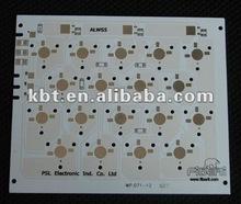 Single-sided PCB,Aluminum PCB with leds assembly,LED PCB