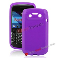 Candy Colors TPU Gel Cover Skin for BlackBerry Bold 9790(Purple)