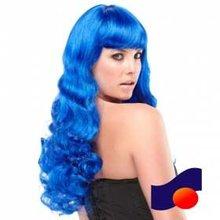 royal blue party wig cosplay wig celebrity wig