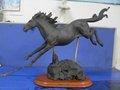 modèle chinois de cheval d'argile