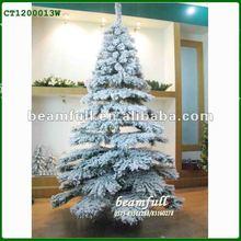 2012 artifical snow christmas tree