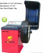 Automatic Tyre Balance machine MST-960 (factory supply)Car wheel balancer