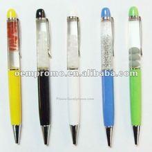 Metal floating pen, Metal liquid pen