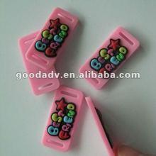 2012 cutely animal shape soft pvc trademark