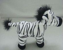 stuffed zebra toy