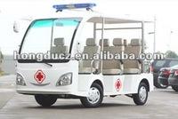 small electric ambulance