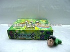 BEN10 flash led music spinning top with infrared