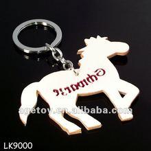 Customized Leather Horse Keychain,Horse Key Ring,Horse Key Holder