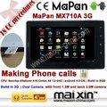 Doppia fotocamera da 7 pollici 5 punti touch screen capacitivo costruire in 3g fare telefonate 8gb 4.0 android os tablet pc mapan mx710a 3g