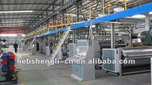 cardboard production line machine