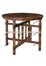 Wooden Antique Round Table /Antique furniture