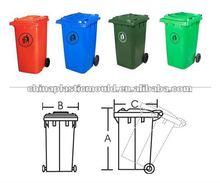 plastic waste bin 240L