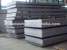 S355jr grado de alta calidad laminado en caliente hoja de acero suave ( q235 q345 a36 ss400 s235jr s355jr s275jr.... Fabricación )