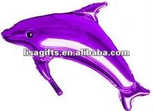 2012 hot selling Huge dolphin carton shape helium foill balloon