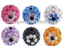 Eye types Crystal Rhinestone pave Ball beads!!8MM beautiful crystal Rhinestone ball beads!!