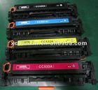 Compatible toner cartridge for HP CB530,CB531,CB532,CB533