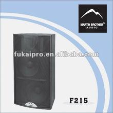 """dual 15"""" system high power full range speaker"""