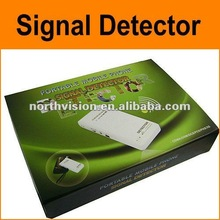 New professional portable mobile phone signal detector with earphone