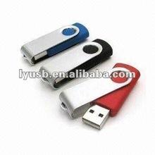 Metal rotating usb flash drive 4gb,Promotion spin usb drive 4gb,logo print usb flash 4gb