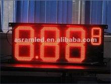 Hot sale high birghtness waterproof digital number 7 segment led display 3 digits