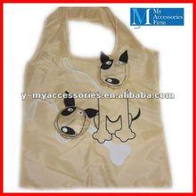 2012 dog shape cheap shopping bags