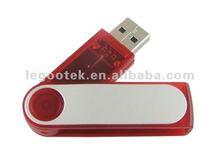 metal swivel USB memory disk with original chip