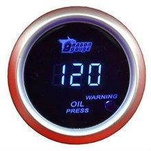 Universal 52mm Digital LED Oil Pressure Gauge