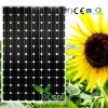 255W Solar cell Panel, price for watt with high efficiency 125x125 mono soalr cells