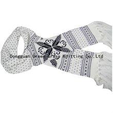 knitting scarf jacquard patterns