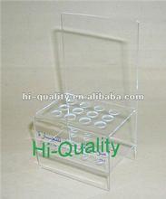 Top Transparent Acrylic Eyebrow pencil Stands
