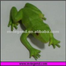 plastic pvc frog figurines