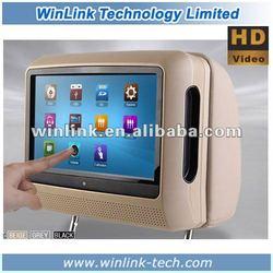 "7"" HD Detachable Panel Touch screen Headrest Monitors built in IR Chanles & FM Transmitter &SPK"