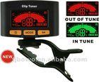 Clip Multi-functional Tuner,Chromatic, Guitar, Bass, violin, Ukulele tuner