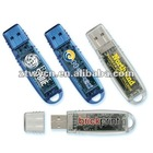 promotional usb drives,Transparent plastic usb flash drive