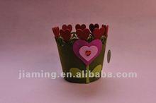 AZO free felt valentine decorative basket