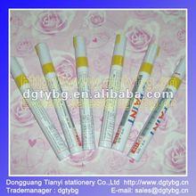 Paint pen Printing paper pen paper inside pen