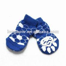 2012 New blue sport ball dog sock pet shoe pet product for wholesale