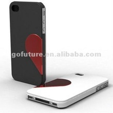 double phone case for lovers for iphone 4