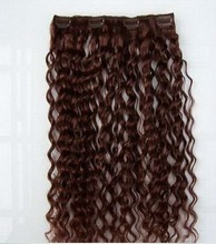 High quality indian hair jerry curl dark color hair