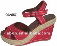 Women's wedge platform exquisite sandal