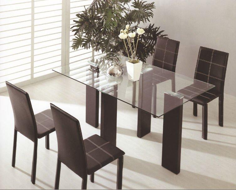 Modernos juegos de comedor mesas de comedor identificaci n for Juego de comedor moderno precios
