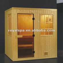 outdoor dry sauna room